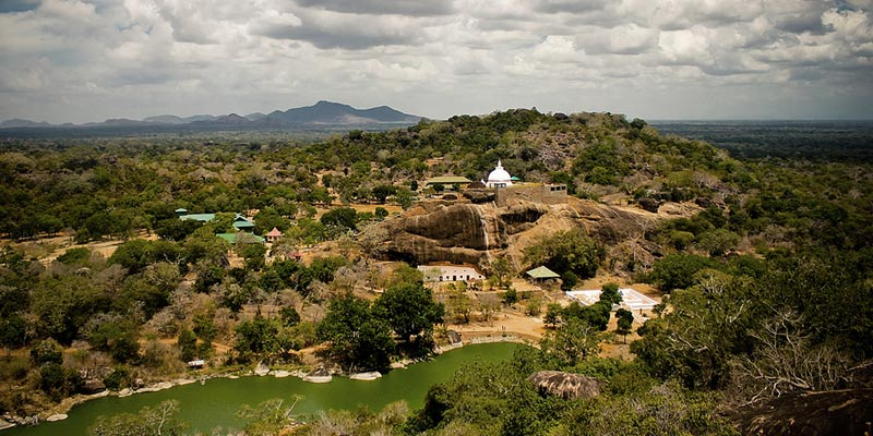Panorama of the Sithulpawwa site